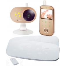 Видеоняня с расширенным монитором дыхания Ramili Baby RV1200SP2
