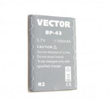 Аккумулятор Vector BP-43 R2